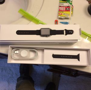 Black apple watch series 1 38 mm for Sale in Raleigh, NC