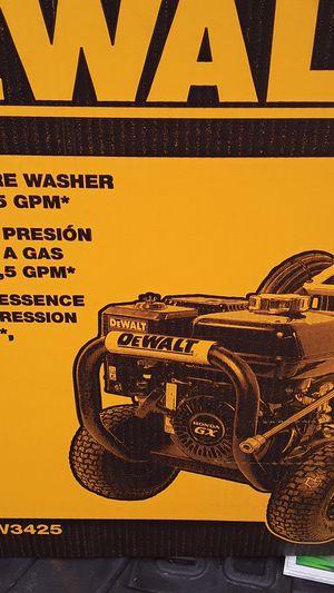 Dewalt pressure washer 3400psi 2.5 gm for Sale in DORCHESTR CTR, MA