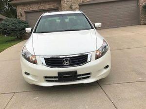 Super Clean 2008 Honda Accord EX-L FWDWheels White Car for Sale in Scottsdale, AZ