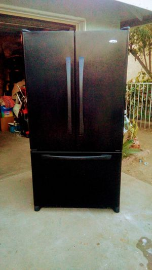 AMANA FRENCH DOOR REFRIGERATOR ***DELIVERY AVAILABLE*** for Sale in Pomona, CA