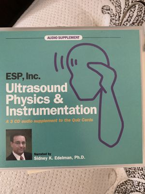 Ultrasound physics study guide for Sale in Glendale, AZ