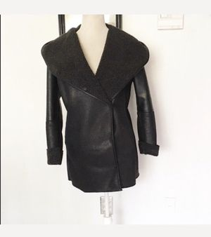 Sam Edelman Black Leather Coat for Sale in Columbia, MD