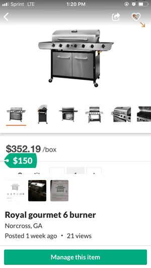 Bbq grill for Sale in Norcross, GA