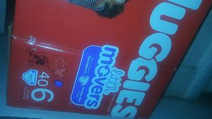 Huggies size6(count 40)$15 for Sale in West Palm Beach, FL