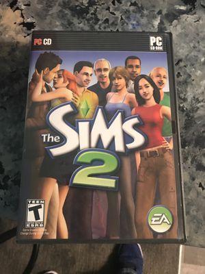 Sims 2 game for cd-rom for Sale in Vicksburg, MI
