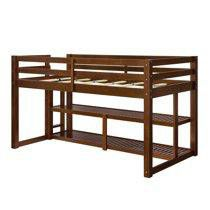 Loft Storage Bed.. Mocha Color for Sale in Houston, TX