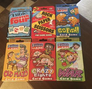Kid's Card Games for Sale in Montgomery, IL
