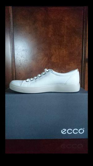 ECCO Men's Soft 7 Lace-Up Sneaker EU 48/US 14-14.5 WHITE MSRP $190 for Sale in Springfield, VA
