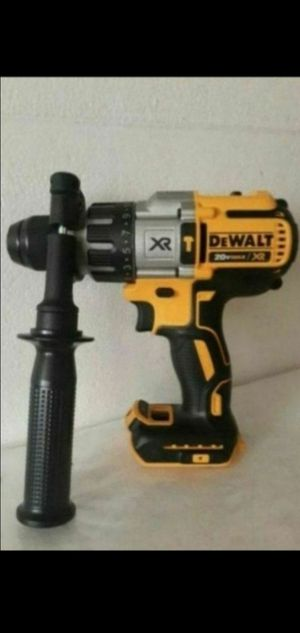 DEWALT 20V XR BRUSHLESS 3 SPEED HAMMER DRILL (TOOL ONLY) for Sale in San Bernardino, CA