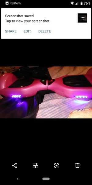 Bluetooth Brand New Pink Hoverboard for Sale in Alameda, CA