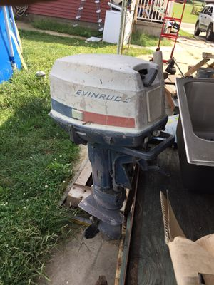 Evinrude 18 horse for Sale in Duncan Falls, OH