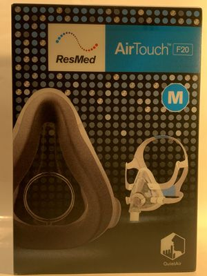 ResMed Air Touch F20 - Full Mask for CPAP Machine's for Sale in Bloomington, CA