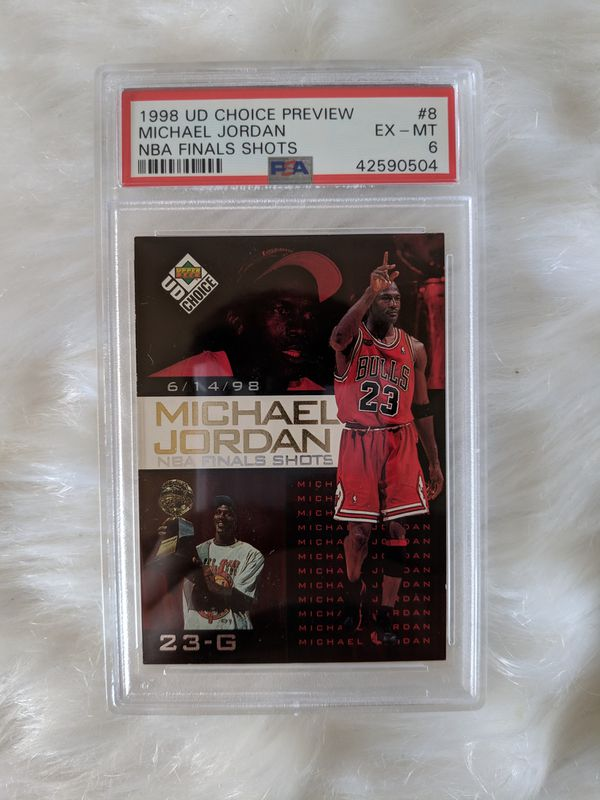 "Michael Jordan ""Final Shots"" Card"