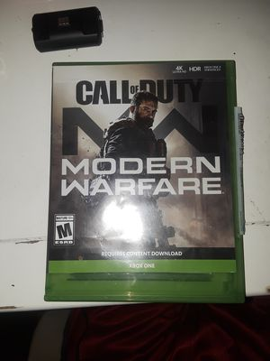 Call OF Duty Modern Warfare Xbox One for Sale in Phoenix, AZ