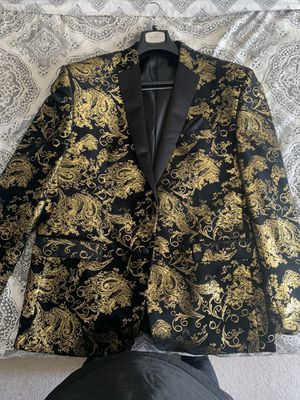 Black and gold blazer for Sale in Maumelle, AR