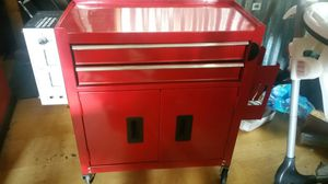 Tattoo station 2 drawer with attached professional national tattoo supply and glove holder for Sale in Everett, WA