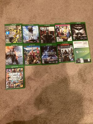 Several Xbox One Video Games and One Xbox 360 Video Game for Sale in Baton Rouge, LA