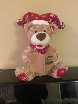 Singling Dancing Christmas Teddy Bear for Sale in Frederick,  MD