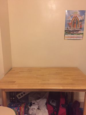 wooden kitchen table for Sale in Queens, NY