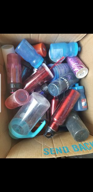 Used sport bottles of water for Sale in Las Vegas, NV