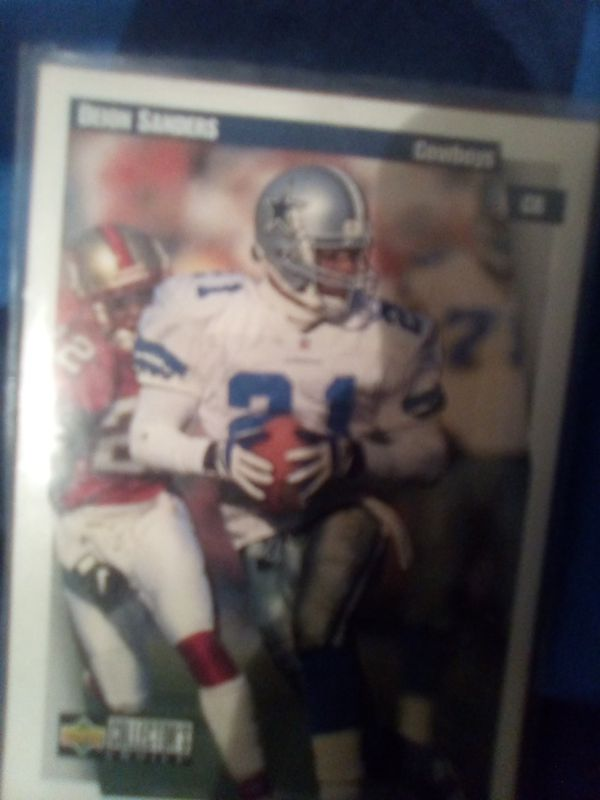 Collector card cowboys NFL