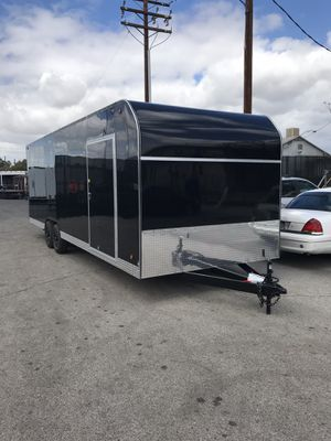 Blacked out 8.5x24x7 enclosed trailer for Sale in Rancho Cucamonga, CA