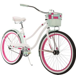 """Huffy 24"""" Summerland girls cruiser bike. Hot pink and sky blue for Sale in Linthicum Heights, MD"""