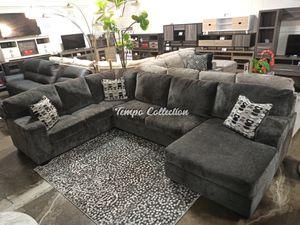 Modern Sectional Sofa, Smoke, SKU# ASH80703TC for Sale in Norwalk, CA