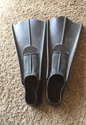Duck feet fins for Sale in Newark, CA