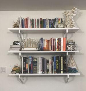4 White Ikea Wall Shelves for Sale in Philadelphia, PA
