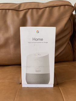 Brand New - Google Home - Smart Speaker With Google Assistant for Sale in Beaverton,  OR