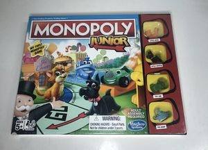 Monopoly Junior Hasbro Gaming My First Monopoly Game NEW Sealed Jr A6984 for Sale in Moonachie, NJ