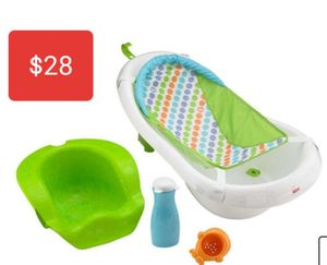 Fisher-Price 4-in-1 Sling Seat Convertible Baby Bath Tube for Sale in Glendale, AZ