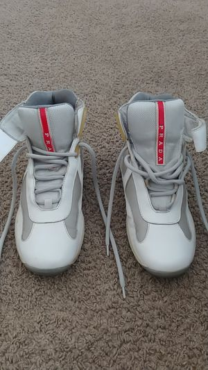 PRADA Men's Shoes Sneakers America's Cup HighTop Size 6 for Sale in Houston, TX