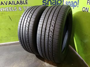 Two 255/50/19 DUNLOP GRANDTREK TOURING A/S, SAVE MONEY AND RETURN YOUR LEASED CAR!! for Sale in Tampa, FL