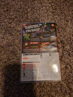 2 Games One case Luigi's Mansion 3/Links Awakeing for Sale in Sherman, TX