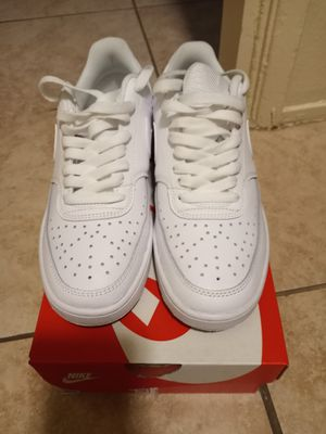 Nike Court vision low Size 7.5 worn once for Sale in CRYSTAL CITY, CA