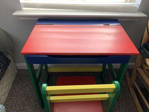 Kids desk - multicolored for Sale in Houston, TX