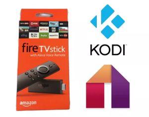 Amazon Firestick w/ Alexa 17.6 Kodi for Sale in Bowie, MD