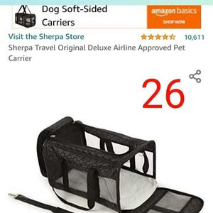 Dog Soft Carrier for Sale in Los Angeles, CA