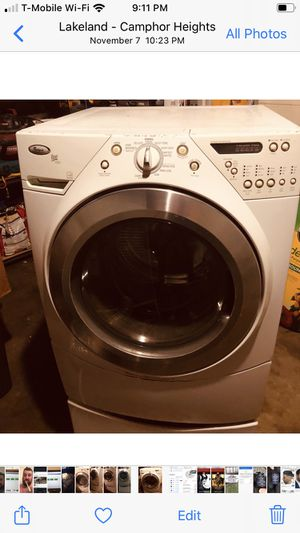 Front load whirlpool washer and dryer set. for Sale in Lakeland, FL