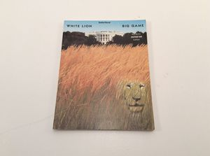 Guitar songbook white lion big game for Sale in Durham, NC