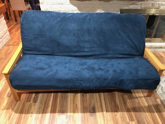Wooden frame futon for Sale in Maquoketa,  IA