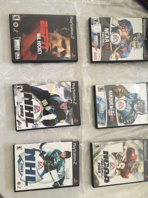 Play Station 2 Football & Hockey games for Sale in Adelphi, MD