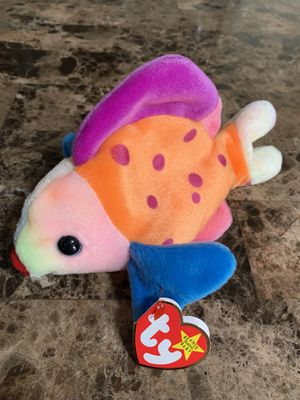 TY Beanie Babies Lips the Fish for Sale in La Habra, CA