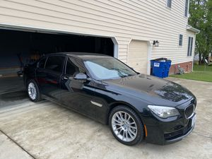 2013 BMW 740 Li clean and runs very well. Garage kept 80k miles. I rarely drive it. Asking 22k for Sale in Chester, VA
