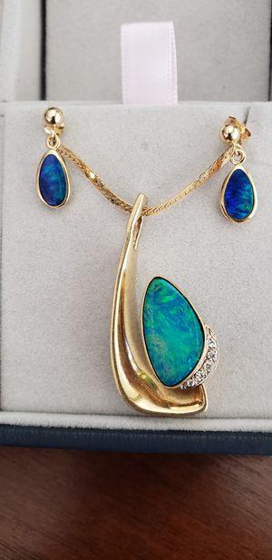 14 k opal set for Sale in San Jose, CA