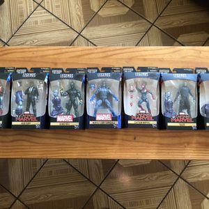 """Marvel Legends Series 6"""" Captain Marvel Wave Kree Sentry BAF - All 7 Complete Set for Sale in Hawthorne, CA"""