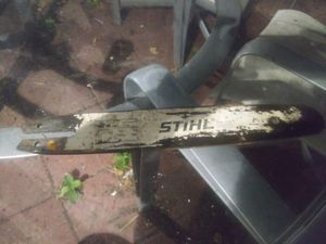 Chainsaw bar for sale!! for Sale in Hollywood, FL