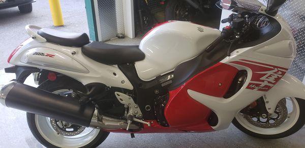 Suzuki 2018 GSXR 1300 motorcycle